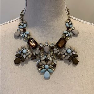 Bib statement necklace like J Crew Factory